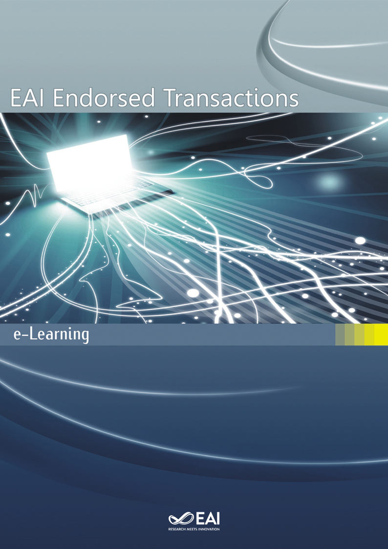 Eai Endorsed Transactions On E Learning Eudl